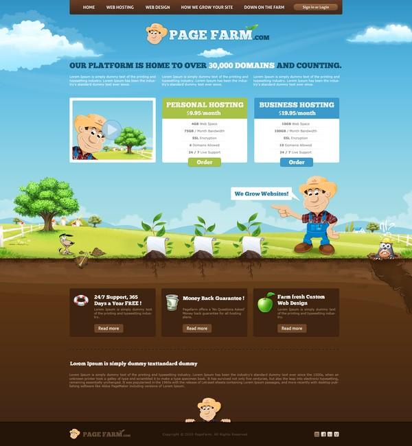 illustration website inspiration