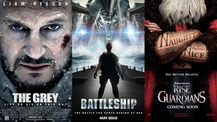 20 Best Upcoming Movies Poster 2012