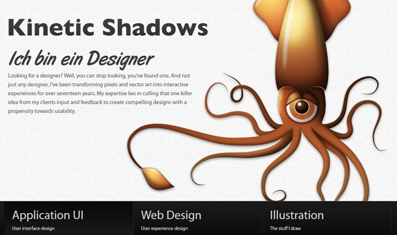 Character Illustration web design