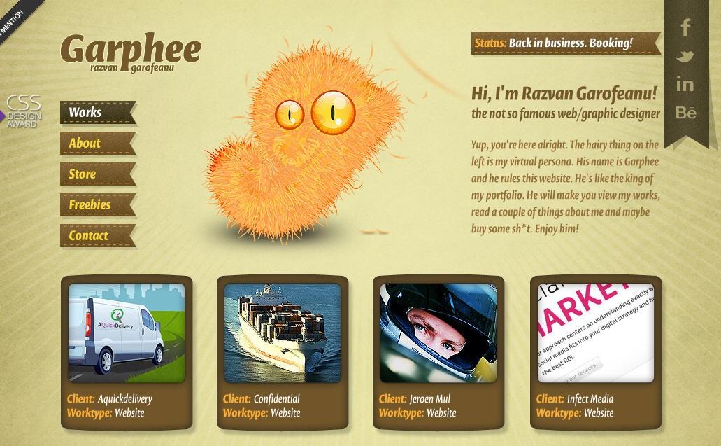 Inspiration of Character Illustration Web Designs 5