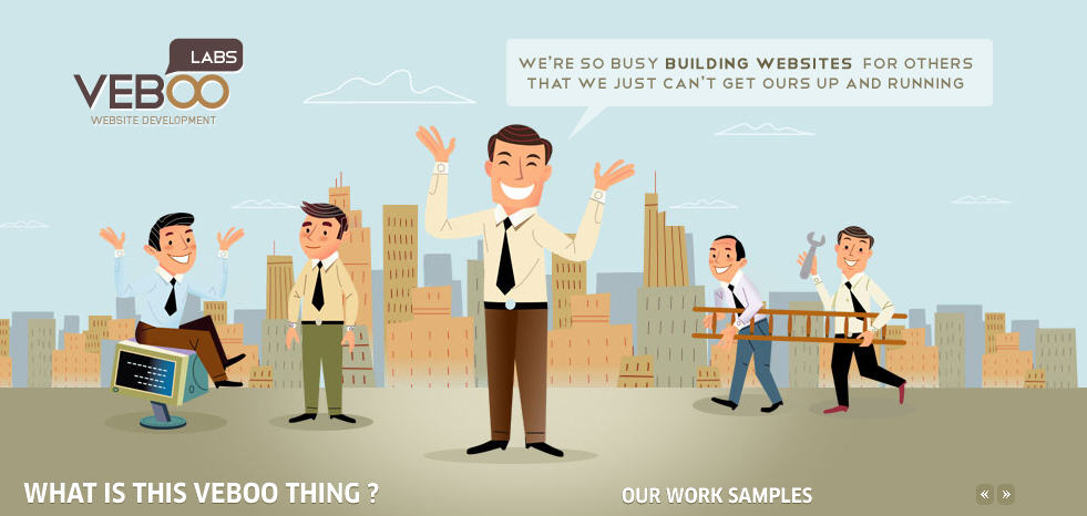 Inspiration of Character Illustration Web Designs 7