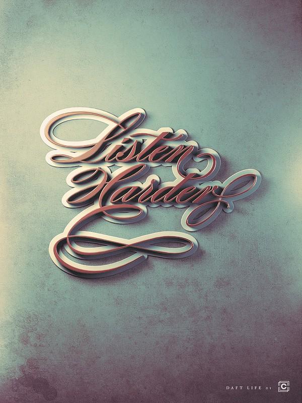 20 Creative Typography Designs Inspiration 37