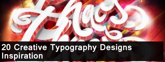 20 Creative Typography Designs Inspiration 1