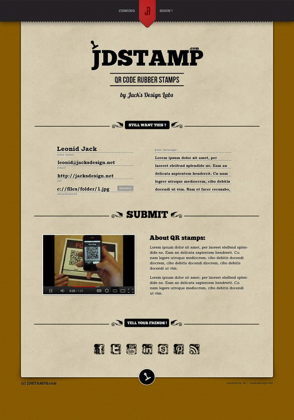 20 Great Landing Page Design for Your Inspiration 3