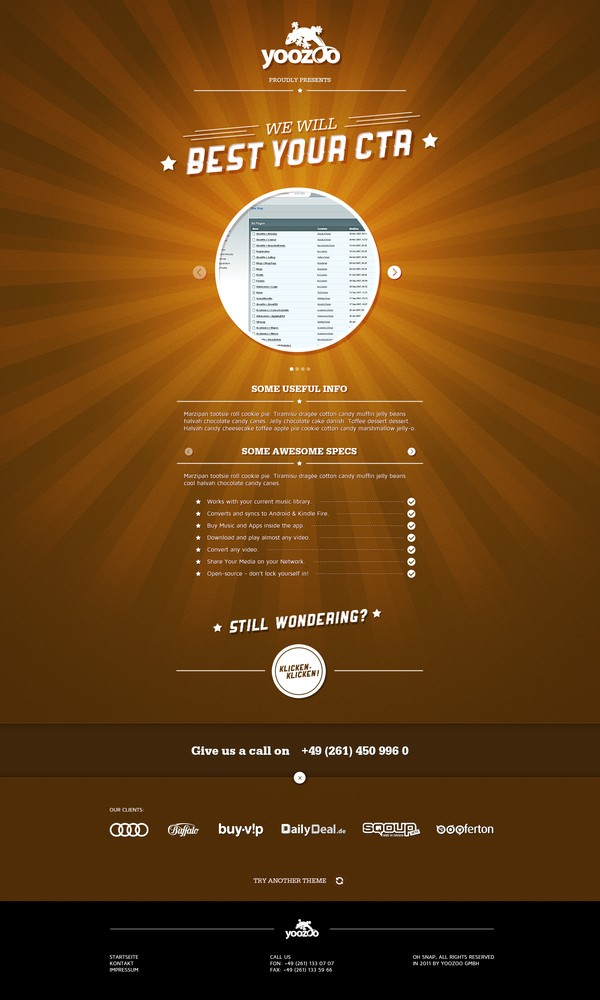 20 Great Landing Page Design for Your Inspiration 4