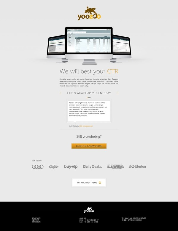 20 Great Landing Page Design for Your Inspiration 5