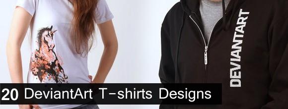 20 DeviantArt T-shirts Designs 1