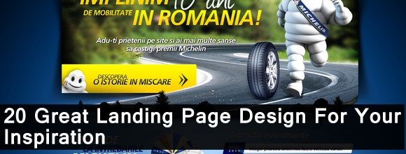 20 Great Landing Page Design for Your Inspiration 1