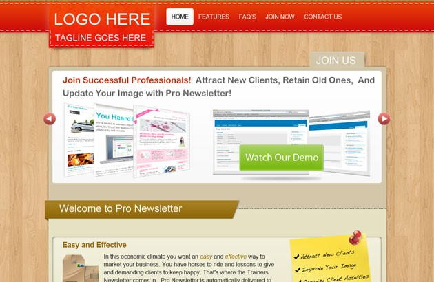 Collection Of Free and Premium Newsletter Template 2