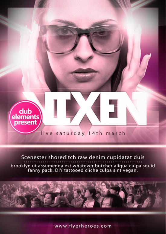 Free PSD Party Flyers Templates 5