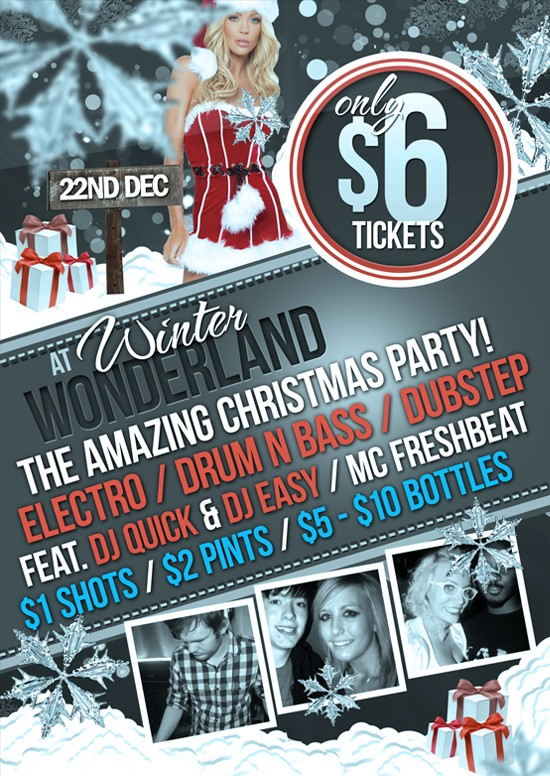 Free PSD Party Flyers Templates 9