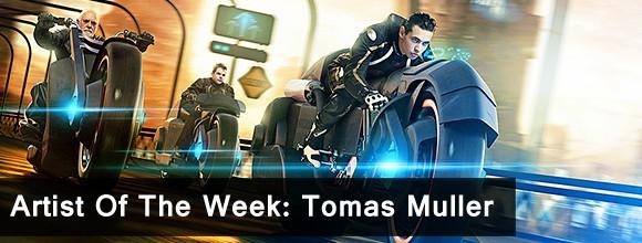 Artist Of The Week: Tomas Muller 1