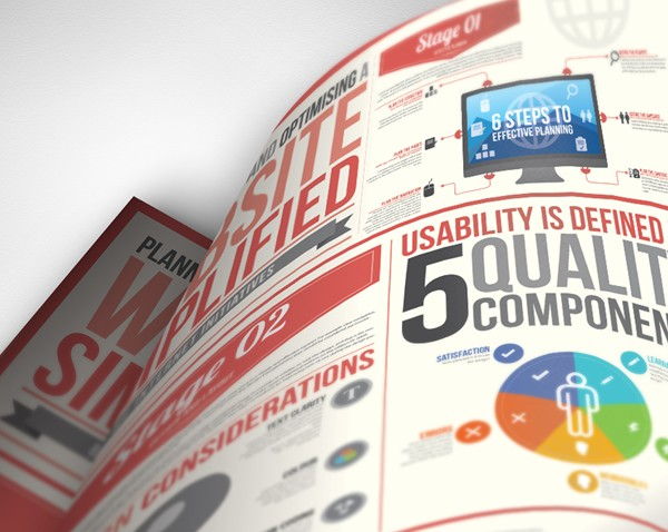 Website Simplified Design Infographic 45