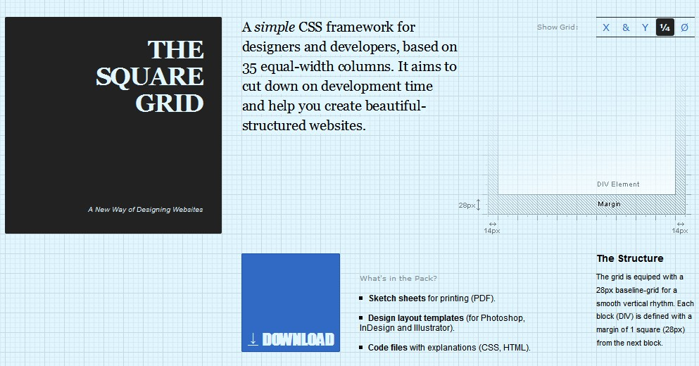 Essential css frameworks for web developer downgraf design and an easy css framework for developers and additionally programmers based on 35 equal width columns it aims to cut down on development time and in addition malvernweather Gallery