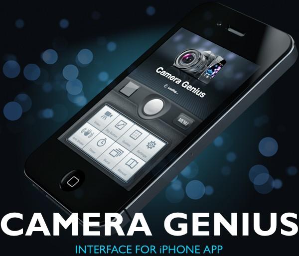 Camera Genius App Interface Design 2