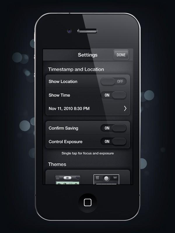 Camera Genius App Interface Design 12