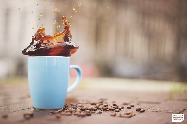 40 Stunning Coffee Splashes Pictures 13