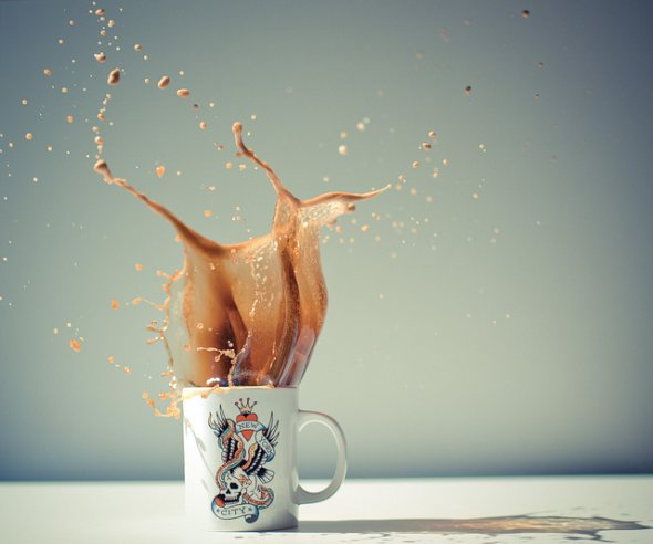 40 Stunning Coffee Splashes Pictures 14