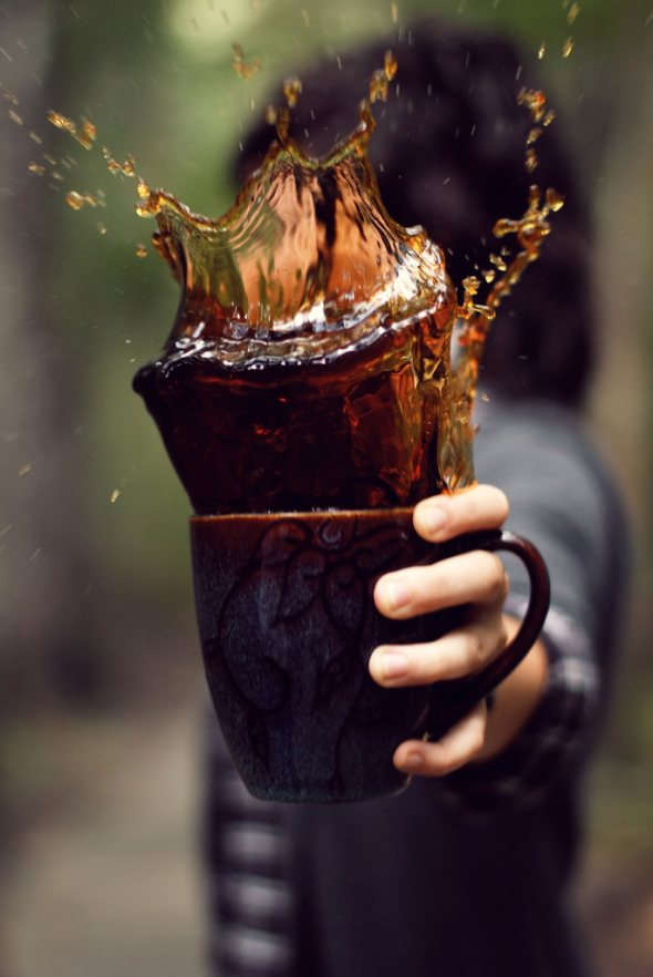 40 Stunning Coffee Splashes Pictures 2