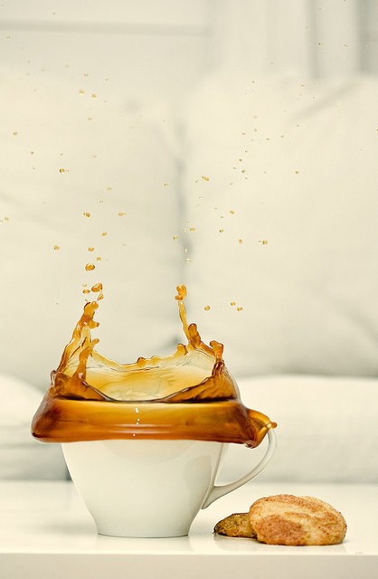 40 Stunning Coffee Splashes Pictures 18