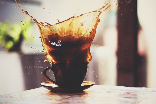 40 Stunning Coffee Splashes Pictures 22