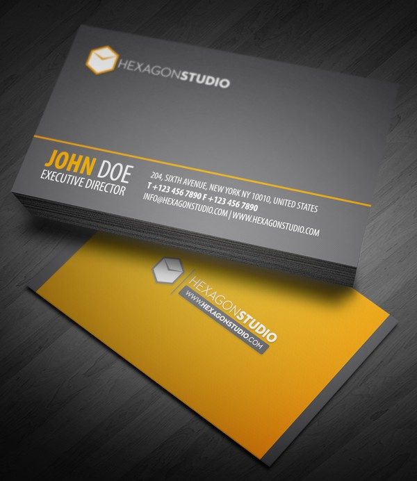 20+ Creative Business Cards Design Inspiration 36