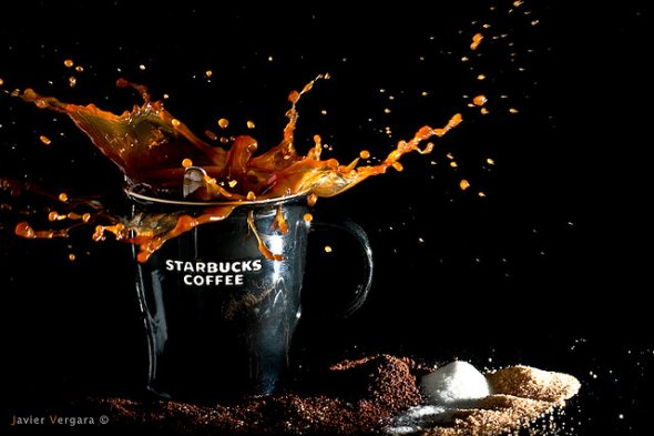 40 Stunning Coffee Splashes Pictures 27