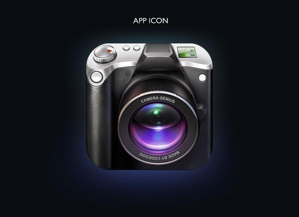 Camera Genius App Interface Design 3