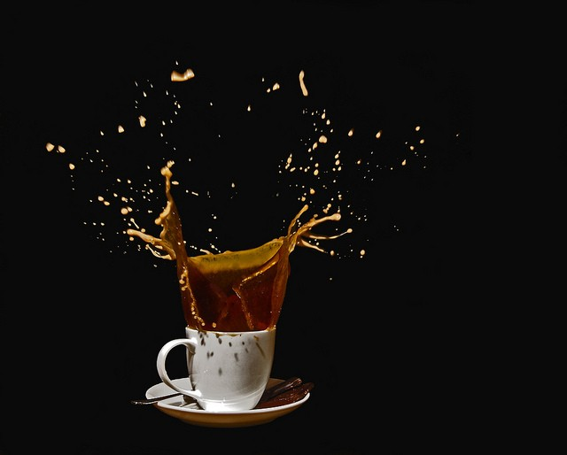 40 Stunning Coffee Splashes Pictures 28
