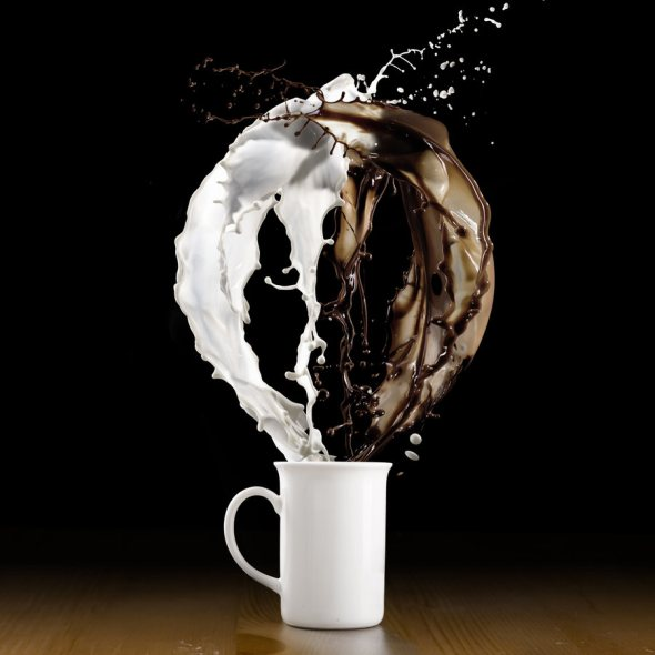 40 Stunning Coffee Splashes Pictures 30