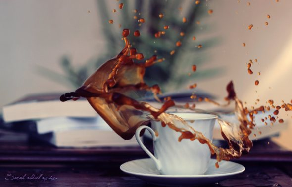 40 Stunning Coffee Splashes Pictures 32
