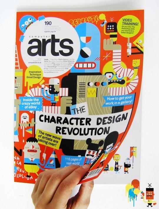 25+ Creative Magazine Design Inspiration For Designers 38