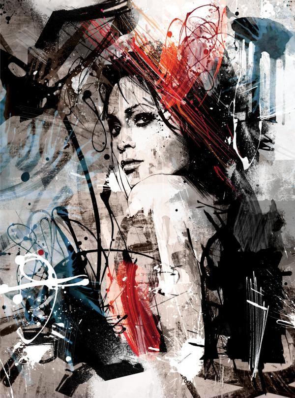 Great Bursting Artwork Illustration of Joshua Miels 38