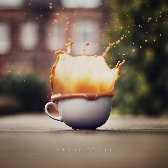 40 Stunning Coffee Splashes Pictures 38