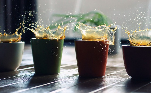 40 Stunning Coffee Splashes Pictures 40