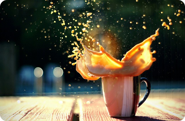 40 Stunning Coffee Splashes Pictures 5
