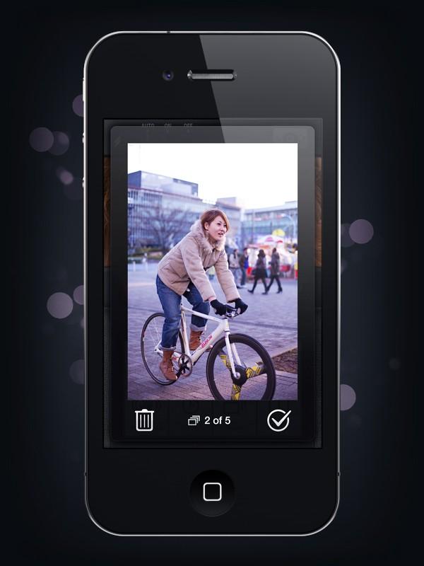 Camera Genius App Interface Design 6