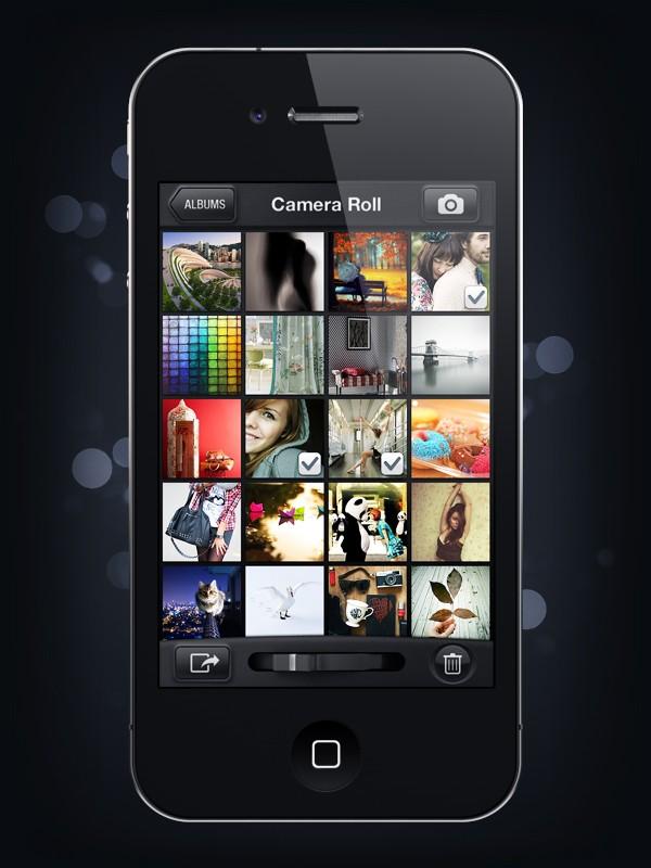 Camera Genius App Interface Design 9