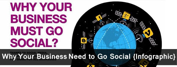 Why Your Business Need to Go Social {Infographic} 1