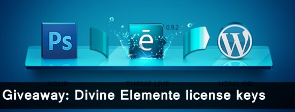 Give Away: Divine Elemente license keys Winner's 5