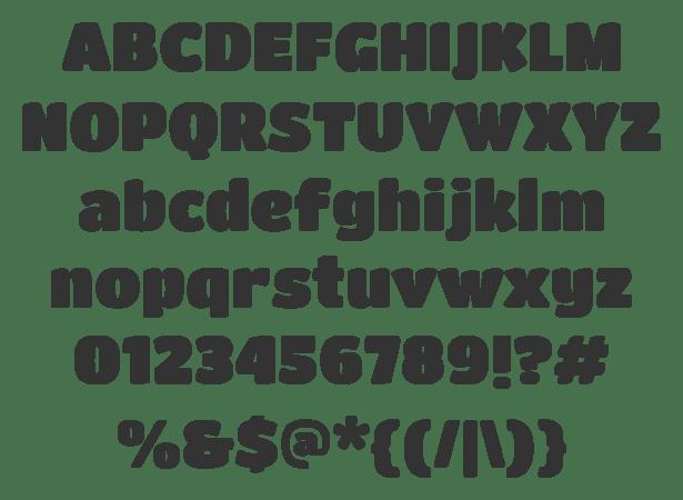 20 Free Unique Fonts For Web Designers 44