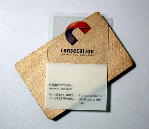 25 Clear & Attractive Transparent Business Cards 15