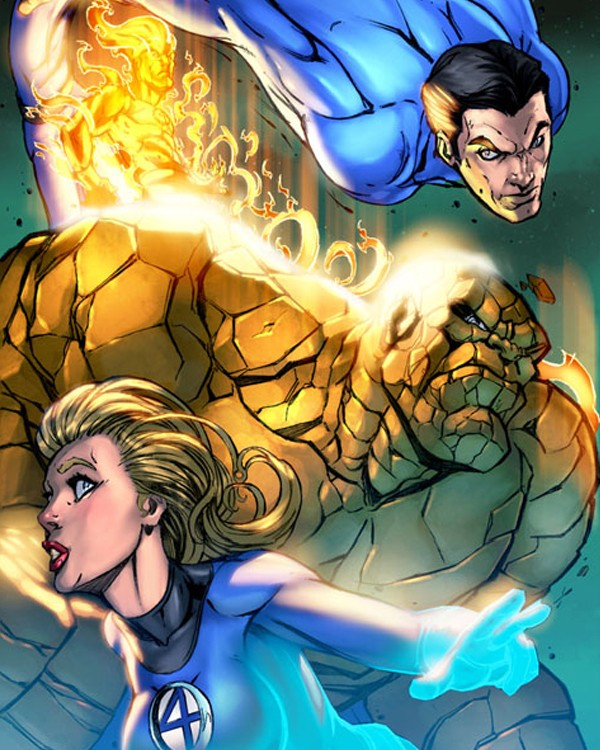 20 Comic Superheroes Artwork for your Inspiration 20