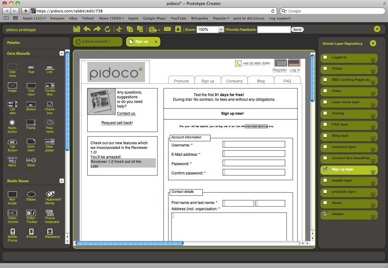 15 most valuable powerful wireframing tools for web for Program design tools