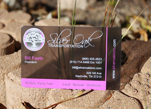 25 Clear & Attractive Transparent Business Cards 22