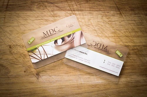 25 Clear & Attractive Transparent Business Cards 25