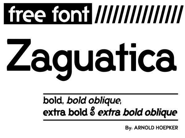 20 Free Unique Fonts For Web Designers 41