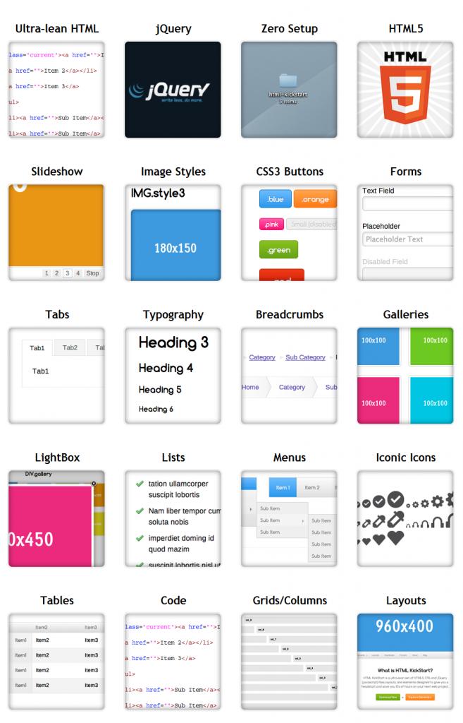 HTML KickStart: Rapid Website Development HTML CSS ToolKit 3