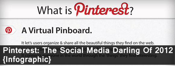 Pinterest: The Social Media Darling Of 2012 Infographic 8