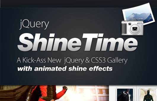 New jQuery & CSS3 Gallery With Animated Shine Effects 36
